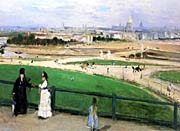 Berthe Morisot View Of Paris From The Trocadero canvas prints