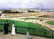 Berthe Morisot View of Paris from the Trocadero