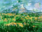 Paul Cezanne Mont Sainte Victoire 1904 canvas prints