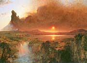 Frederic Edwin Church Cotopaxi (detail)