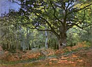 Claude Monet The Bodmer Oak Forest Of Fontainebleau canvas prints