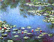 Claude Monet Water Lilies 1906 Detail canvas prints