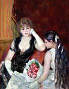 Pierre Auguste Renoir At The Concert canvas prints