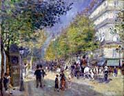 Pierre Auguste Renoir The Great Boulevards canvas prints