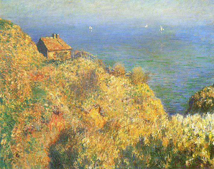 Claude Monet The Fisherman's House, Varengeville stretched canvas art print
