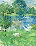 Berthe Morisot View of the Bois de Boulogne