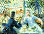 Pierre Auguste Renoir The Canoeists Luncheon canvas prints