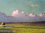 Martin Johnson Heade Sunlight and Shadow, The Newbury Marshes (detail)