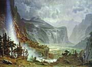 Albert Bierstadt The Domes of the Yosemite