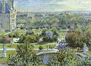 Claude Monet The Tuileries