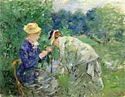Berthe Morisot In the Garden 1879