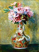 Pierre Auguste Renoir Bouquet In A Vase canvas prints