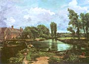 John Constable A Water Mill canvas prints