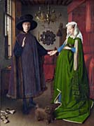 Jan van Eyck The Arnolfini Wedding Portrait