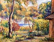 Pierre Auguste Renoir Landscape At Cagnes canvas prints