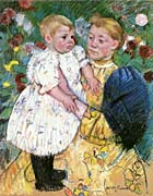 Mary Cassatt In The Garden 1893 canvas prints