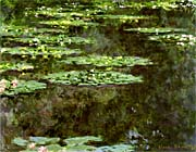 Claude Monet Water-Lilies 1904 (detail)