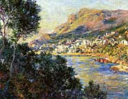 Claude Monet Monte Carlo Seen From Roquebrune canvas prints
