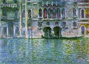 Claude Monet Venice Palazzo Da Mula canvas prints