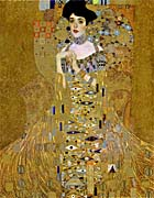 Gustav Klimt Adele Bloch Bauer I Detail canvas prints