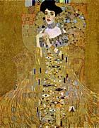 Gustav Klimt Adele Bloch-Bauer I (detail)