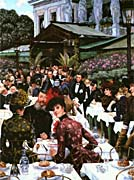 James Tissot The Painters and Their Wives