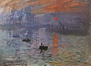Claude Monet Impression Sunrise canvas prints