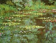 Claude Monet Nympheas 1906 Detail canvas prints