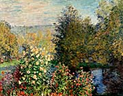 Claude Monet Corner of a Garden at Montgeron