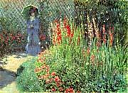 Claude Monet Gladioli