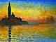 Claude Monet prints - San Giorgio Maggiore at Dusk - Venice Twilight