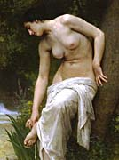 William Bouguereau Woman After The Bath canvas prints