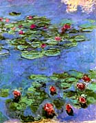 Claude Monet Water Lilies 1914 canvas prints