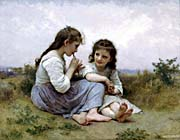 William Bouguereau Childhood Idyll canvas prints
