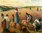 Camille Pissarro The Gleaners canvas prints