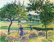Camille Pissarro Bountiful Harvest canvas prints