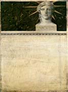 Gustav Klimt Poster Design International Exhibition canvas prints