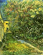 Vincent Van Gogh The Garden of Saint-Paul Hospital