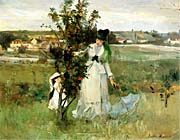 Berthe Morisot Hide And Seek canvas prints