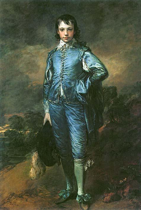 Thomas Gainsborough The Blue Boy stretched canvas art print