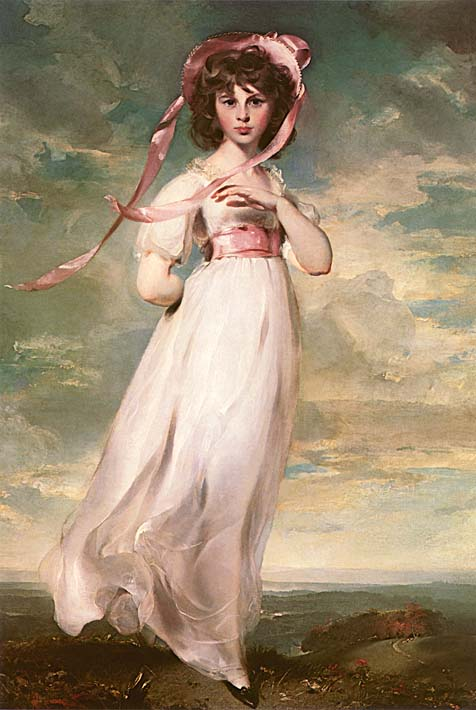 Thomas Lawrence Pinkie stretched canvas art print
