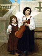 William Bouguereau Far from Home