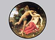 William Bouguereau Flora And Zephyr canvas prints