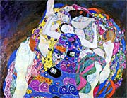 Gustav Klimt The Virgin Detail canvas prints
