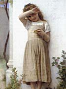 William Bouguereau In Penitence