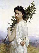 William Bouguereau Laurel Branch