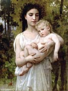 William Bouguereau Little Brother