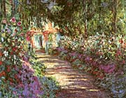 Claude Monet The Garden in Flower