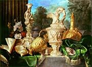 Meiffren Conte Still Life with Precious Vessels