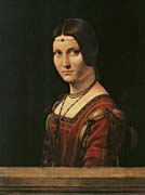 Leonardo Da Vinci Lady in the Court of Milan
